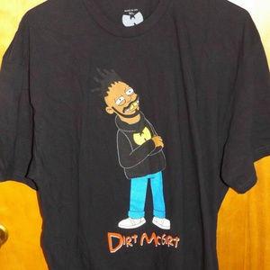 WuTang ODB Dirt McGirt Cartoon Shirt XL